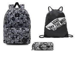 Vans Old Skool III Off The Wall Backpack - VN0A3I6ROTW1 + OTW Pencil Pouch - VN0A3HMQY28 + Benched Bag - VN000SUF158
