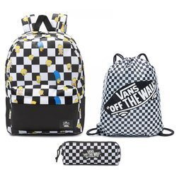 Vans Old Skool III The Simpsons Backpack + Pencil Pouch + Benched Bag