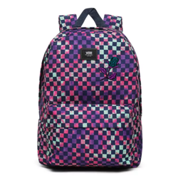 Vans Old Skool III Tie Dye Check Backpack VN0A3I6RYKT Custom Rose