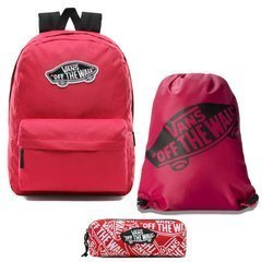 Vans Realm Backpack - VN0A3UI6SQ2 + Bag + Pancil Pouch