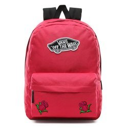 Vans Realm Backpack - VN0A3UI6SQ2 - Custom Pink Roses