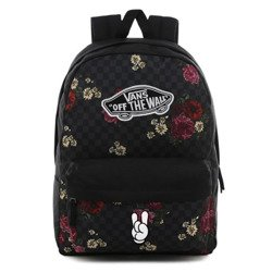 Vans Realm Botanical Check Backpack - VN0A3UI6UWX - Custom Rock & Roll