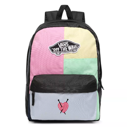 Vans Realm Checkwork Backpack Custom Heart - VN0A3UI6VDK