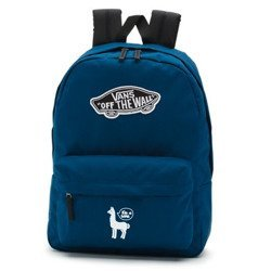 Vans Realm Gibraltar Sea Backpack - VN0A3UI6TTA - Custom Lama