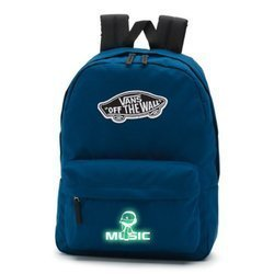 Vans Realm Gibraltar Sea Backpack - VN0A3UI6TTA - Custom Lumi - Music
