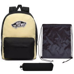Vans Realm Golden Haze-Black Backpack - VN0A3UI6V5G