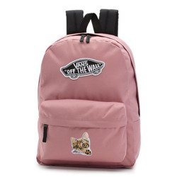 Vans Realm Nostalgia Rose Backpack Custom Kitty - VN0A3UI6UXQ