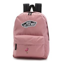 Vans Realm Nostalgia Rose Backpack - VN0A3UI6UXQ - Custom Flamingo