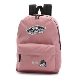 Vans Realm Nostalgia Rose Backpack - VN0A3UI6UXQ - Custom Sweet Kitty