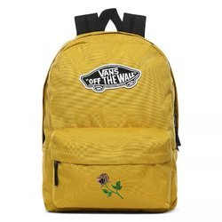 Vans Realm Olive Oil Backpack Custom Rose - VN0A3UI6ZLM