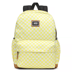 Vans Realm Plus Lemon Tonic Checkerboard Backpack - VN0A34GLVD7