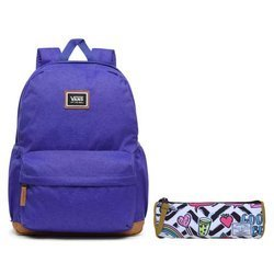 Vans Realm Plus Royal Blue Backpack - VN0A34GLRYB + Pencil Pouch