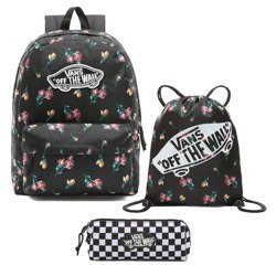 Vans Realm Satin Floral Backpack - VN0A3UI6UV31 Sports Bag pencil-case