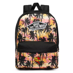 Vans Realm Sunset Palms Backpack Custom Oh Yea - VN0A3UI6NID