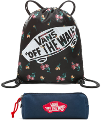 Vans WM Benched Bag Satin Floral - VN000SUFUV3