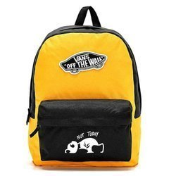 Vans Womens Realm Backpack - VN0A3UI6TVT - Custom Panda Not Today