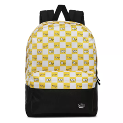 Vans x The Simpsons Check Eyes Backpack - VN0A4V44ZZY
