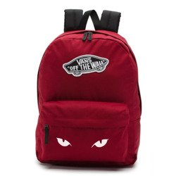 Vans Realm Biking Red Backpack - VN0A3UI61OA - Custom Cat's Eyes
