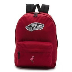 Vans Realm Biking Red Backpack - VN0A3UI61OA - Custom Flamingo