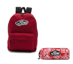 Vans Realm Biking Red Backpack - VN0A3UI6TTA