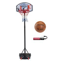 Basketball set Hudora All Stars + Spalding TF-500 + Jordan Pump