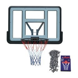 Basketball set Spartan Wall Mounted Backboard - 1151 + Chain Net