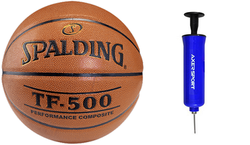 Spalding Basketball NBA TF - 500 Basketball - 3001503010 + Axer Sport pump