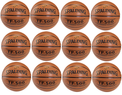 Spalding Basketball NBA TF - 500 Basketball x12 - 3001503010