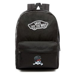 VANS Realm Backpack | VN0A3UI6BLK - Custom Sweet Kitty