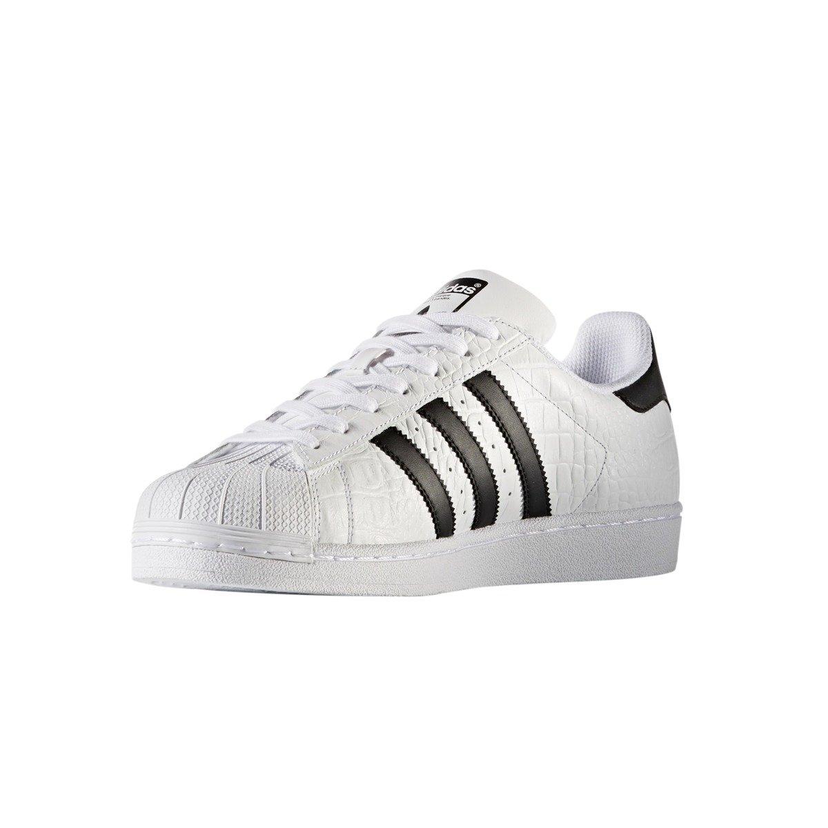 eae449e2e9f4 ... Adidas Originals Superstar Animal Print Shoes - BZ0198 ...