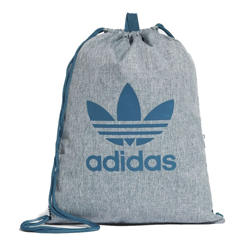 Mujer hermosa Educación escolar Leche  Adidas Originals Trefoil Gym sack Sports Bag - CE2386 CE2386 ...