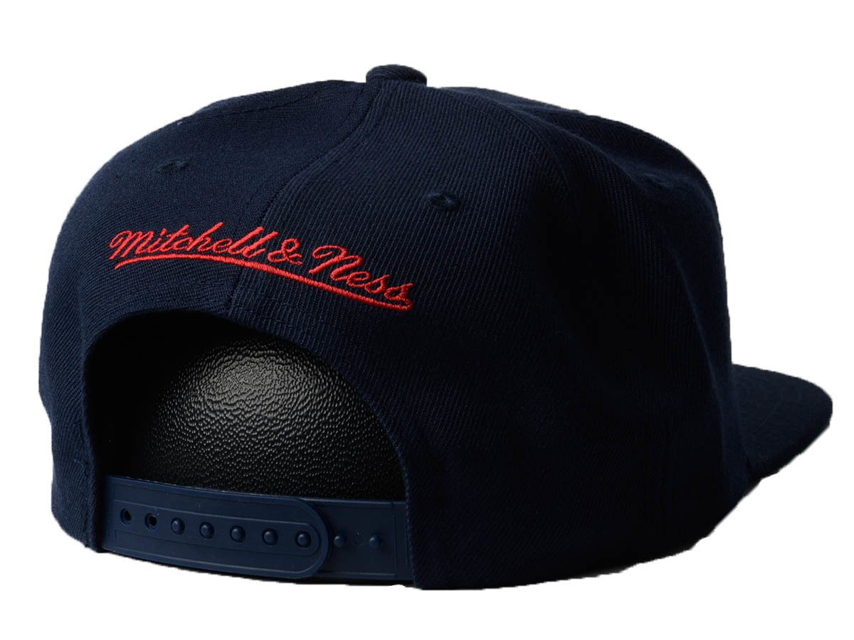 Mitchell   Ness Wool Solid NBA Houston Rockets Snapback Cap Houston ... 44a9abe7ba3