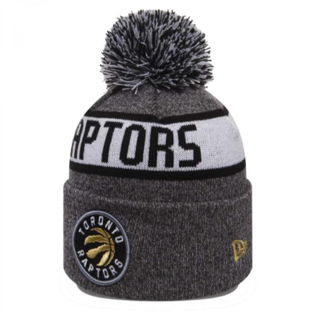 a314bf0c600 New Era NBA Toronto Raptors Marl Knit Beanie - 80524572 Raptors ...