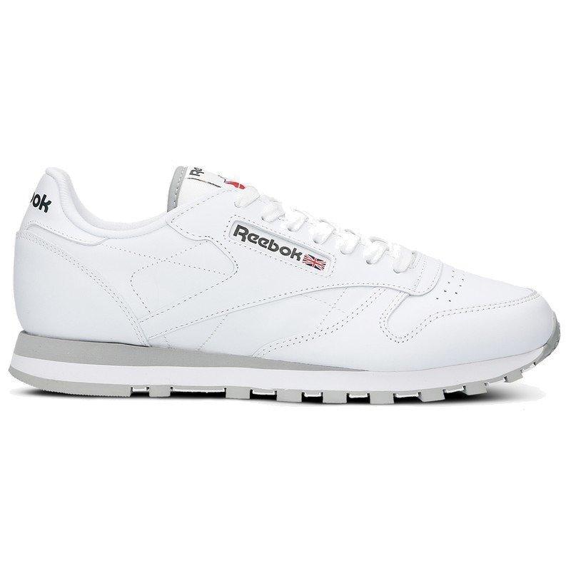 d884bc843fb Reebok CL LTHR Shoes - 2214 Intense White Light Grey ...
