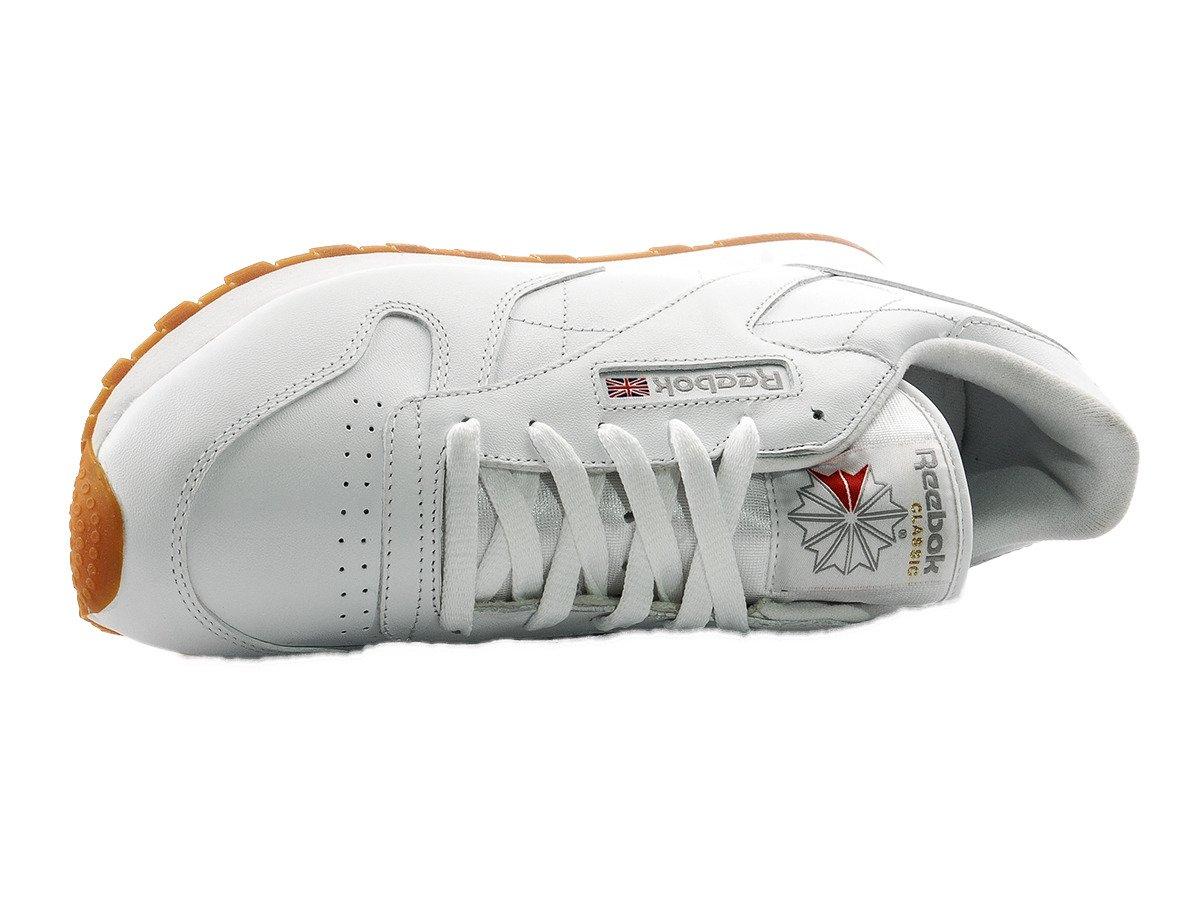 51d12e5722e Reebok Classic Leather Shoes - 49803 Intense White Gum ...