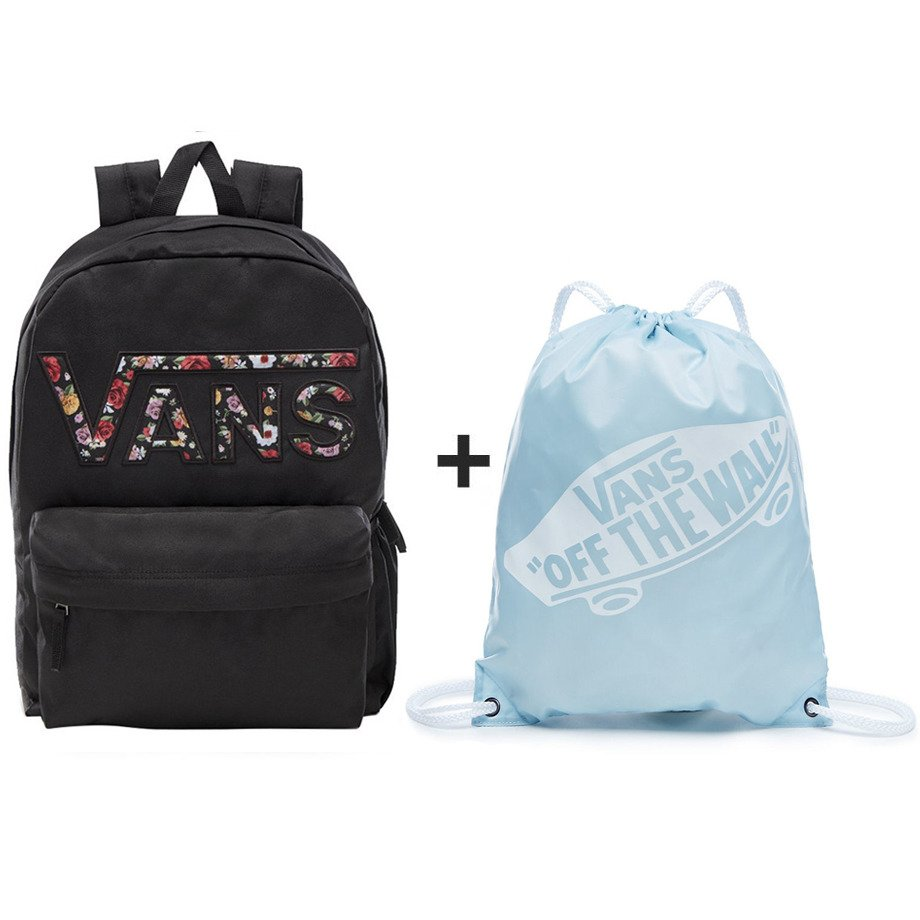 4a3e1fb713a VANS Realm Backpack - VN0A3UI8YGL 004 + VANS Benched Bag - VN000SUF689