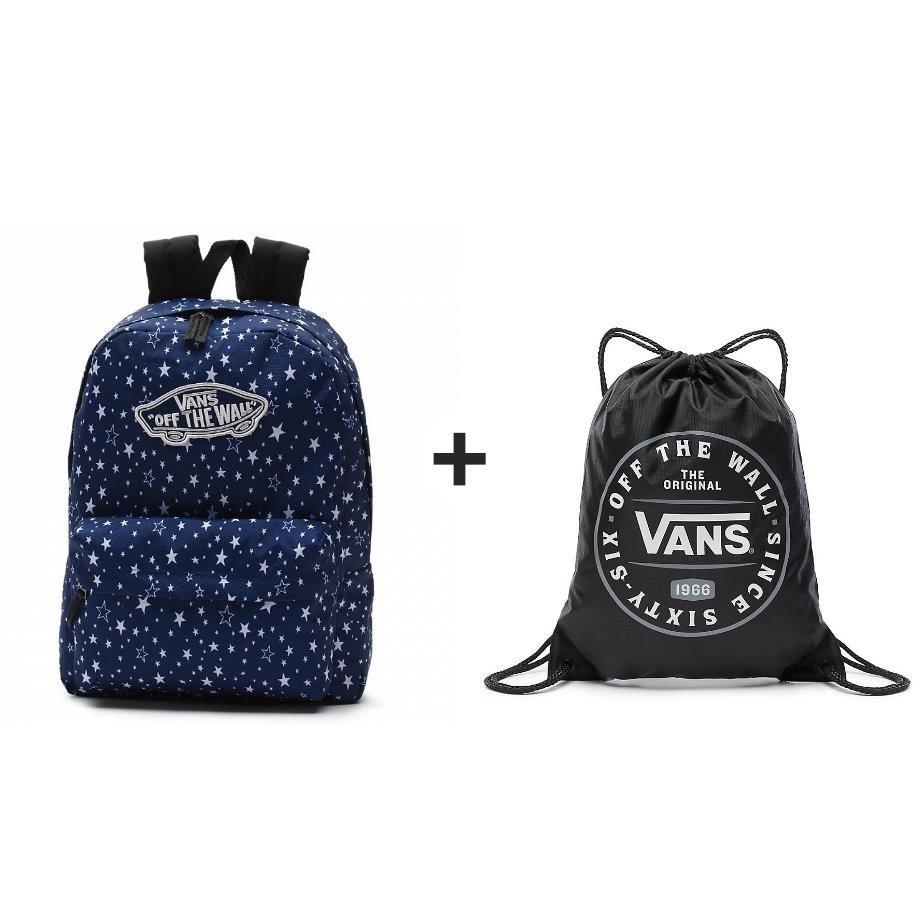 2ef4acd5e1 VANS Realm Medieval Blue Star Backpack - VN0A3UI6RCJ 955 ...