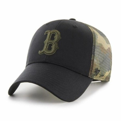 47 Brand MLB Boston Red Sox Trucker Cap - B-BCKSW02CTP-BK