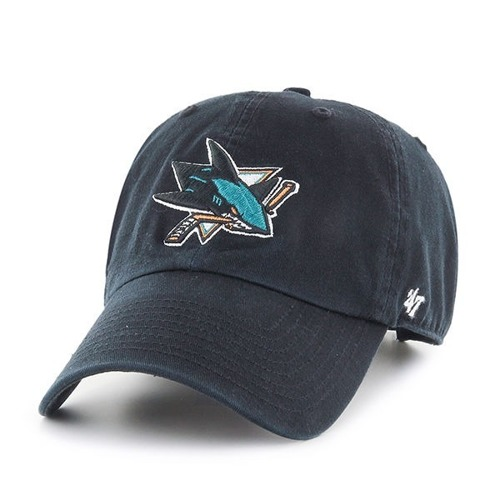 47 Brand NHL San Jose Sharks Clean Up Strapack - H-RGW22GWS-BK