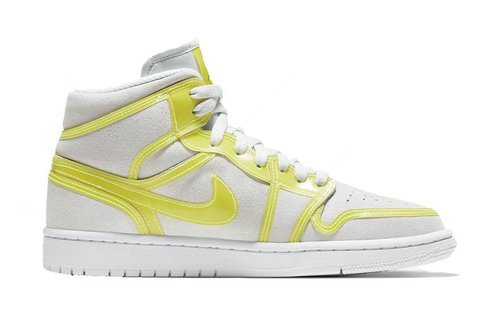 Air Jordan 1 Mid LX Opti Yellow WMNS - DA5552-107