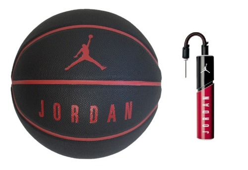 Air Jordan Ultimate 8P Basketball + Air Jordan Essential Pump
