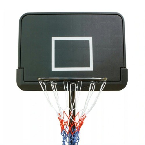 Basketball set Black 305 cm + Spalding NBA Logo outdoor