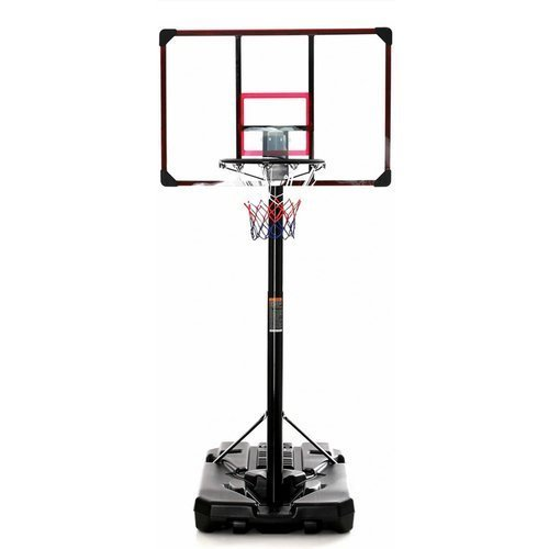 Basketball set DELUX 305 cm + Spalding Grip Control Indoor