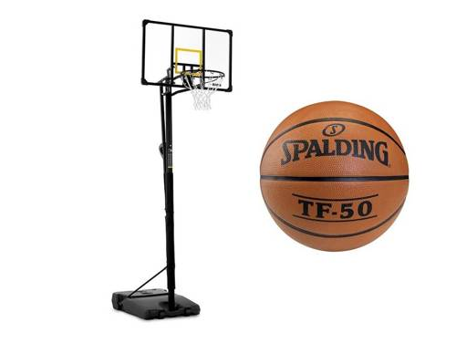 Basketball set + Spalding TF-50 Basketball