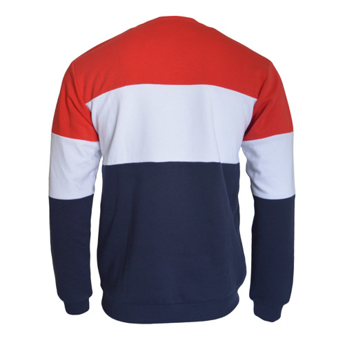 FILA Straight Blocked Crew Sweatshirt - 681255-G06