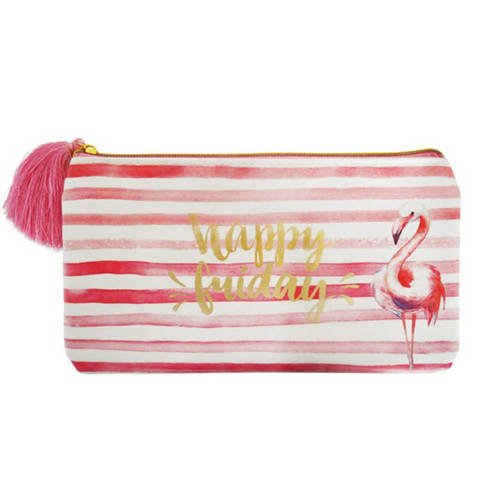Incdoo Flaming Stripes Pencil Pouch - 0106-0079