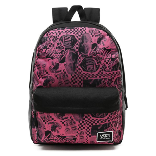 Lady Vans Realm Classic Backpack - VN0A3UI7TV0 + Benched Bag