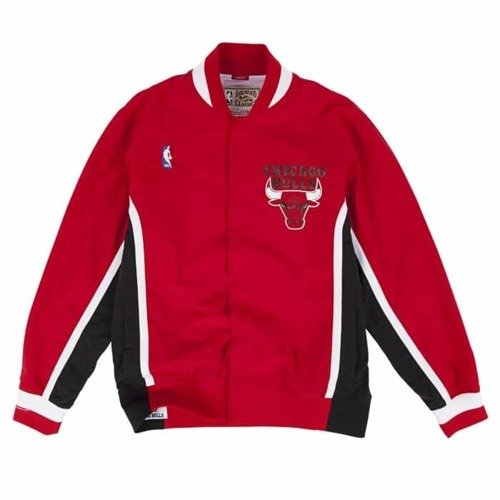 Mitchell & Ness 1992-93 Authentic Warm Up Jacket NBA Chicago Bulls + Pants