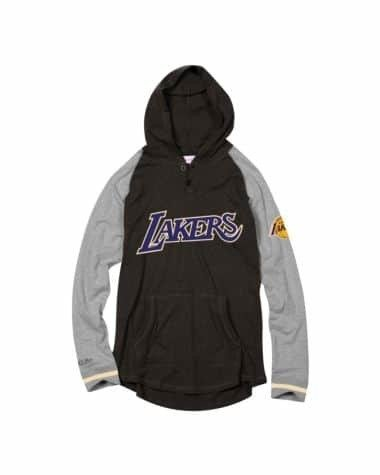 Mitchell & Ness NBA Los Angeles Lakers Slugfest Lightweight Hoodie