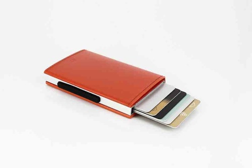 Ogon Designs Cascade Wallet Orange RFID protect